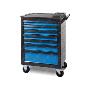 Red Stainless Steel Deep Rolling Tool Cabinet