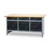 Heavy Duty Stainless Garage Height Workbench for Sale