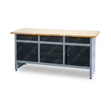 Steel Tool Storage Metal Garage Workbench with Drawer
