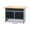 Adjustable Height Home Workbench Tool Storage