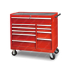 Wall Mounted Lockable Hanging 10 Drawer Tool Cabinet